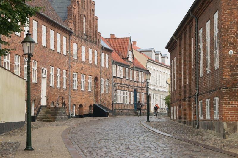 Oude de Gebouwenarchitectuur van Denemarken royalty-vrije stock fotografie