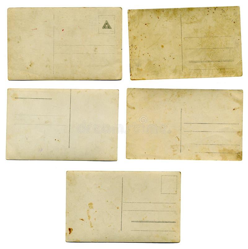 Oude de jaren 1900prentbriefkaaren stock foto's