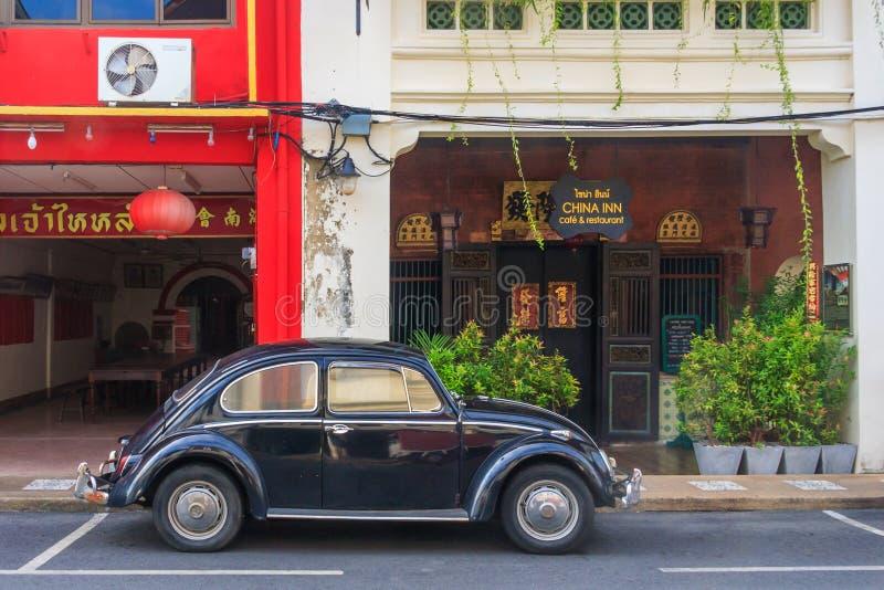 Oude de keverauto van Volkswagen royalty-vrije stock foto's