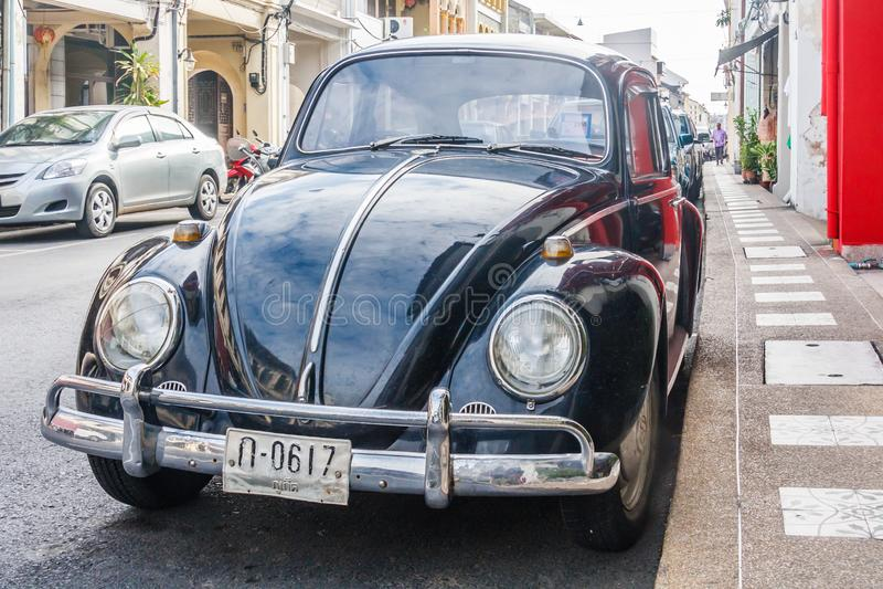 Oude de keverauto van Volkswagen stock fotografie