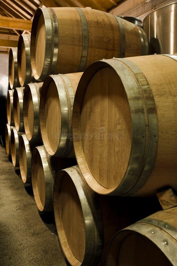 Oude de wijnkelder van de Haven in Douro, Portugal stock foto's