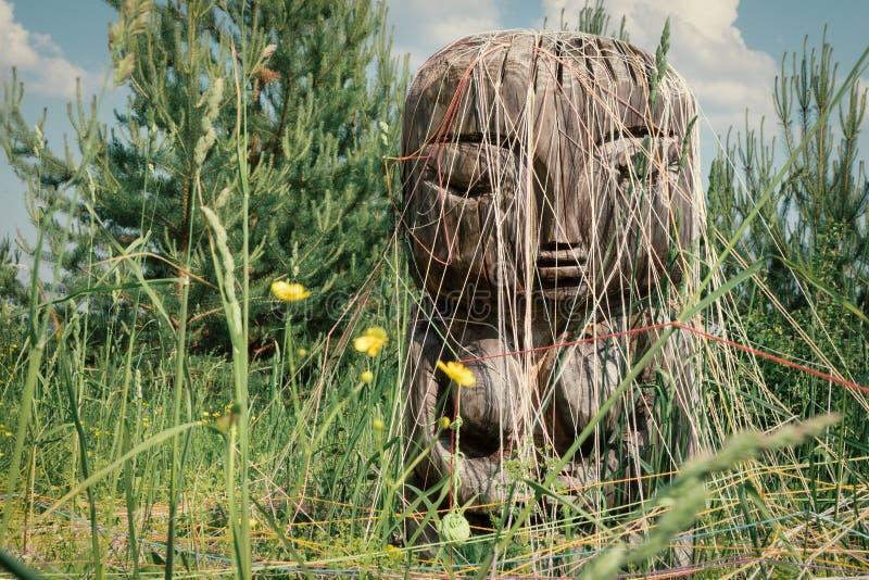 Oude deity van aarde en vruchtbaarheid Pachamama royalty-vrije stock afbeelding
