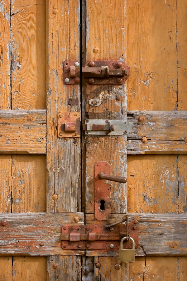 Oude deuren royalty-vrije stock afbeeldingen