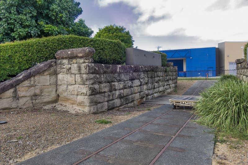 Oude die muurerfenis voor de toekomst wordt vermeld en wordt bewaard royalty-vrije stock fotografie