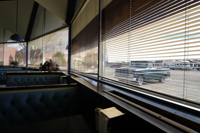 Oude Diner Route 66 royalty-vrije stock afbeeldingen