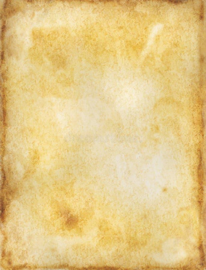 Oude document textuur vector illustratie
