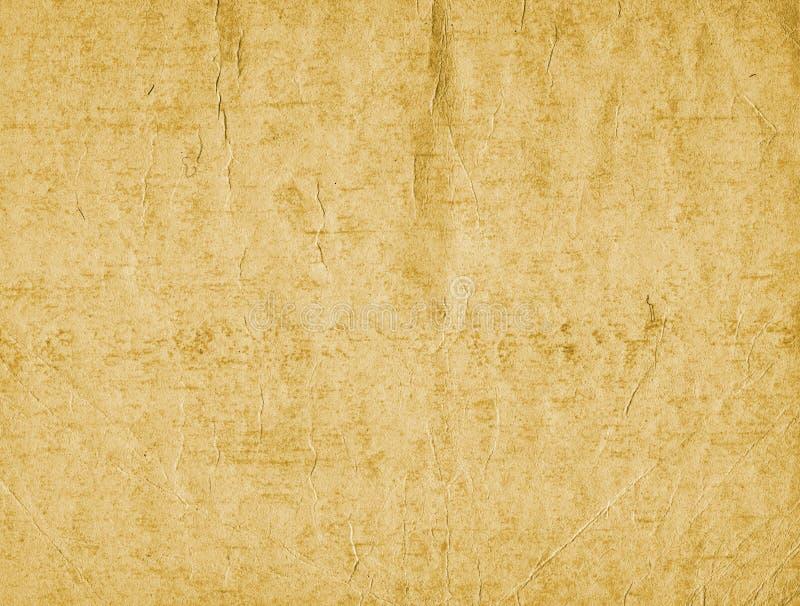 Oude document textuur 2 stock illustratie