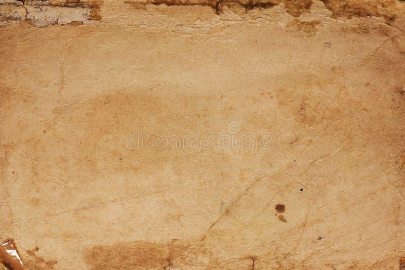 Oude document textuurachtergrond royalty-vrije stock fotografie