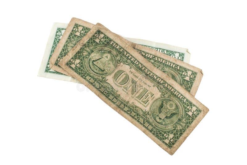 Oude dollar royalty-vrije stock foto