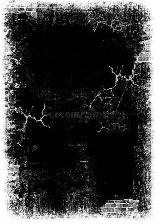 Oude donkere grunge royalty-vrije stock afbeeldingen