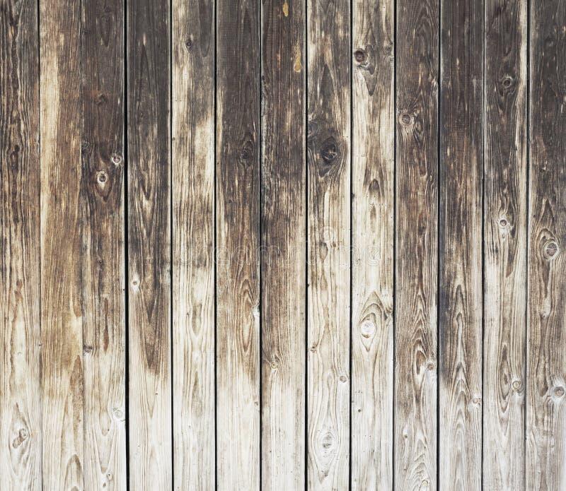 oude doorstane houten muur royalty-vrije stock afbeeldingen