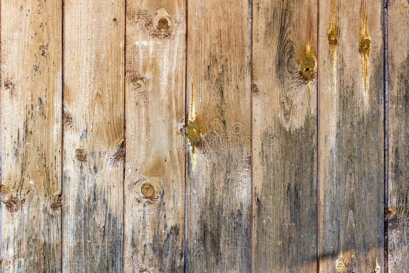 Oude doorstane sjofele houten planken Natuurlijke houten textuur royalty-vrije stock afbeeldingen