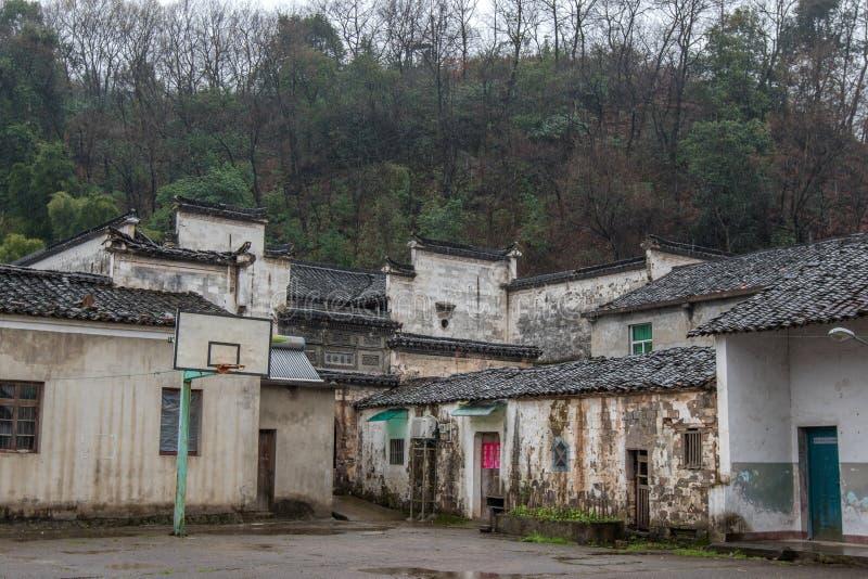 Oude dorpen in Zhejiang, China royalty-vrije stock foto's