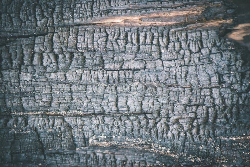 oude droge gebrande houten planken - uitstekend filmeffect stock foto's