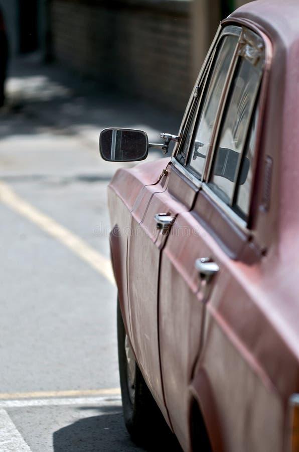 Oude Duitse auto royalty-vrije stock foto