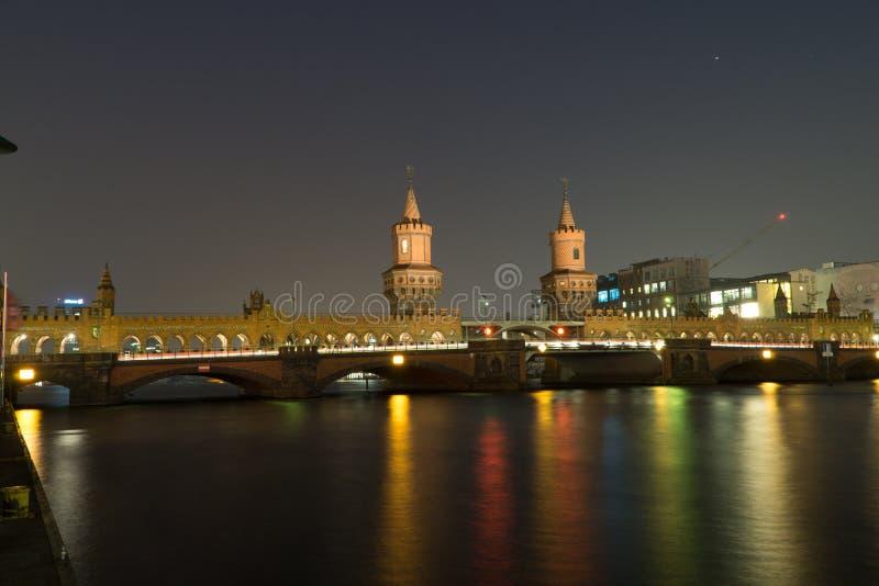 Oude Duitse brug royalty-vrije stock fotografie