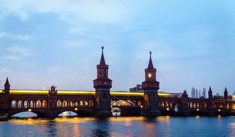 Oude Duitse brug royalty-vrije stock afbeeldingen