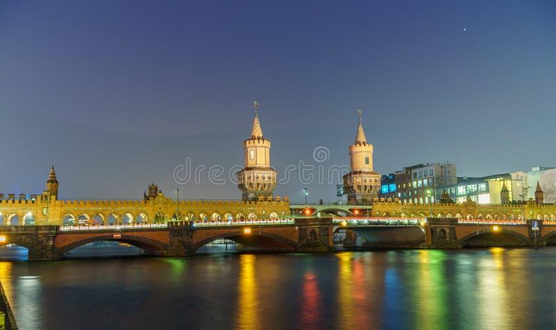 Oude Duitse brug stock afbeeldingen