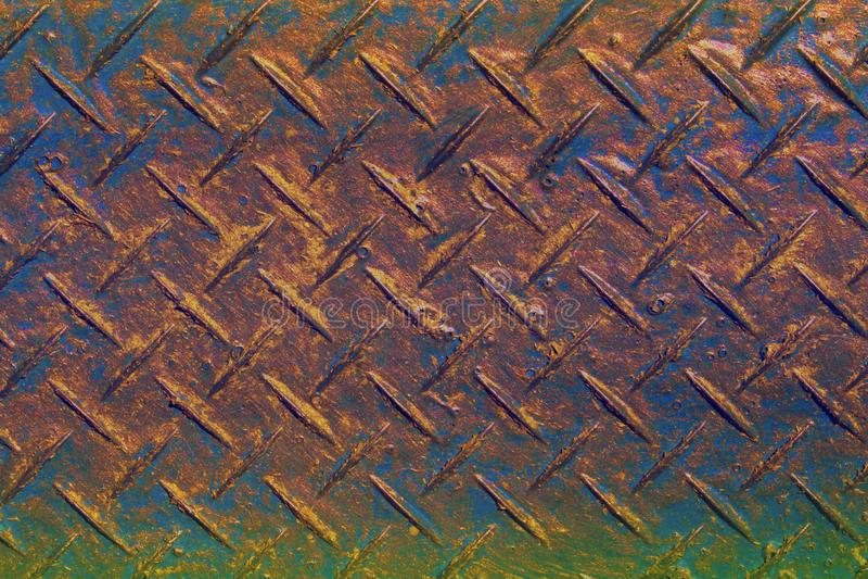 Oude dwars uitgebroede oppervlaktetextuur - leuke abstracte fotoachtergrond stock foto