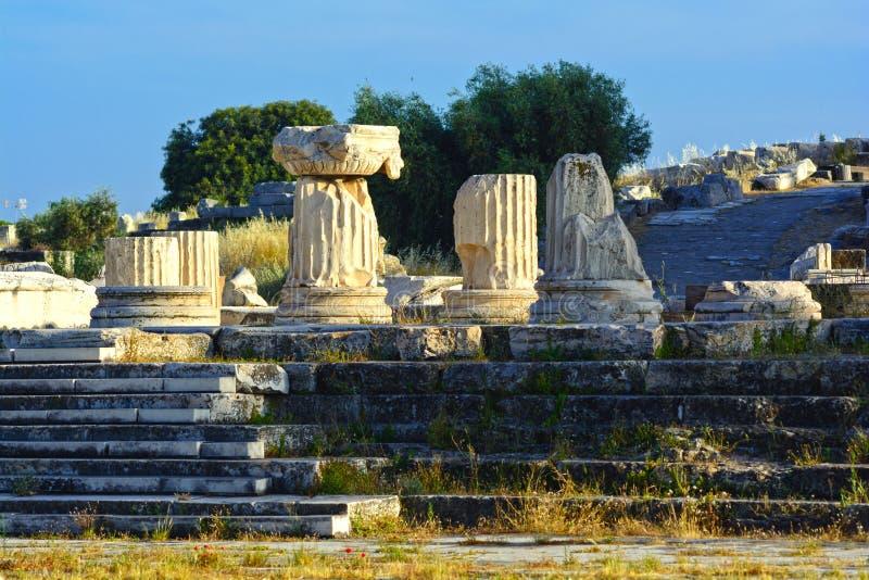 Oude Eleusis royalty-vrije stock foto's