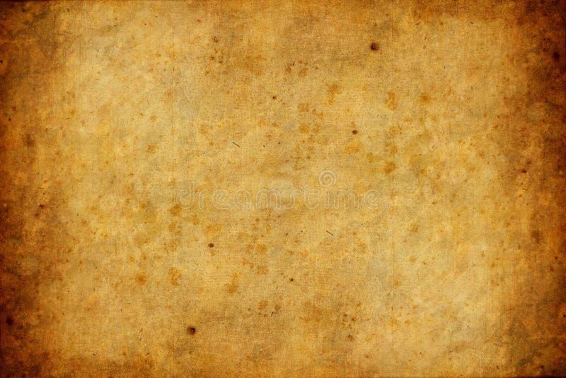 Oude en versleten document textuurachtergrond vector illustratie