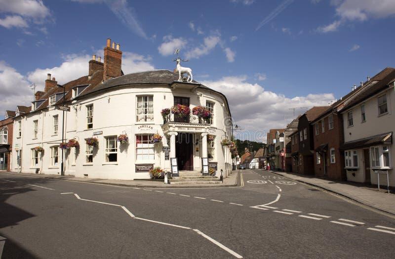 Oude Engelse bar in Hampshire Engeland het UK stock foto