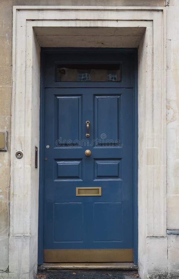 Oude Engelse deur stock fotografie