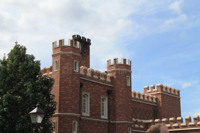Oude Engelse stad in het paviljoen van landen in Epcot royalty-vrije stock afbeelding