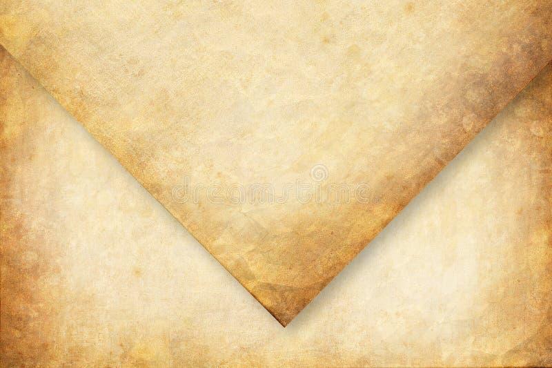 Oude envelop royalty-vrije stock afbeelding