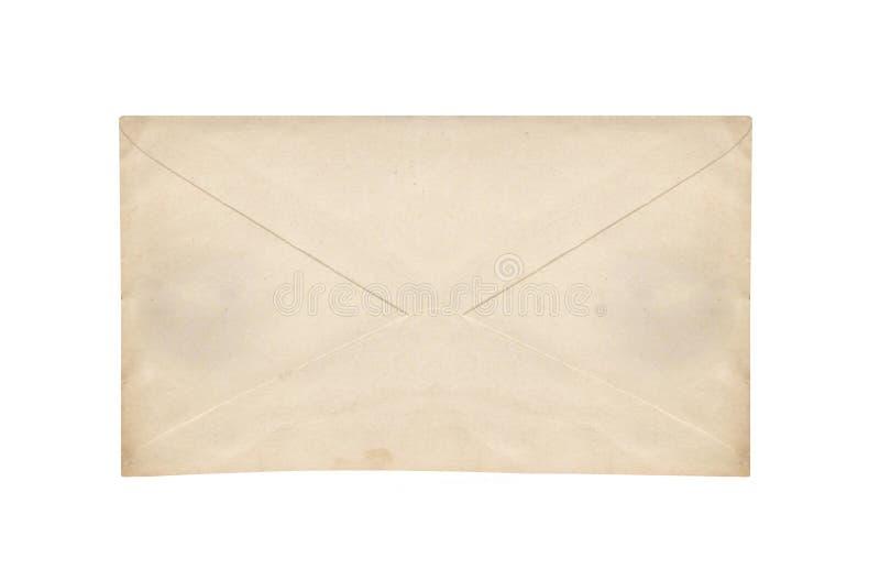 Oude envelop stock afbeelding