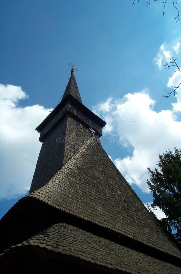 Oude Europese kerk stock foto's