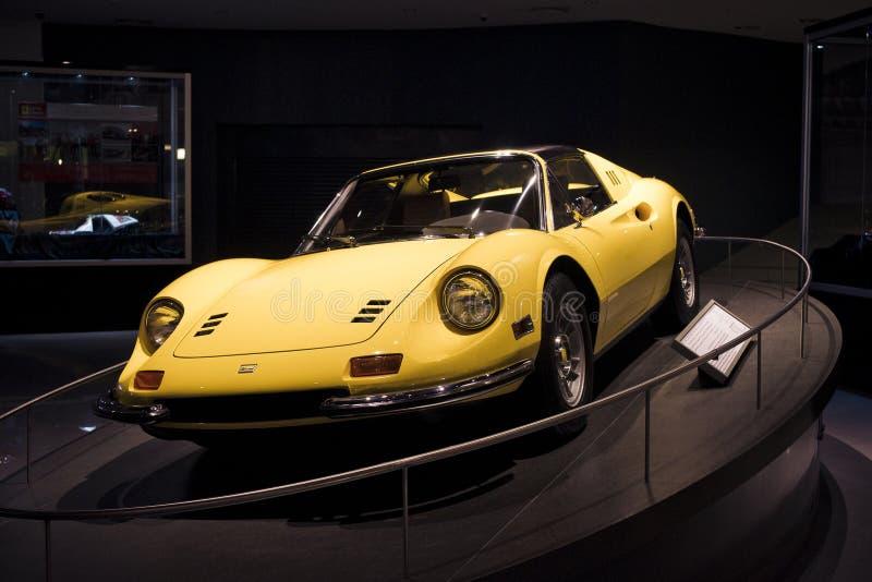 Oude Ferrari royalty-vrije stock foto's