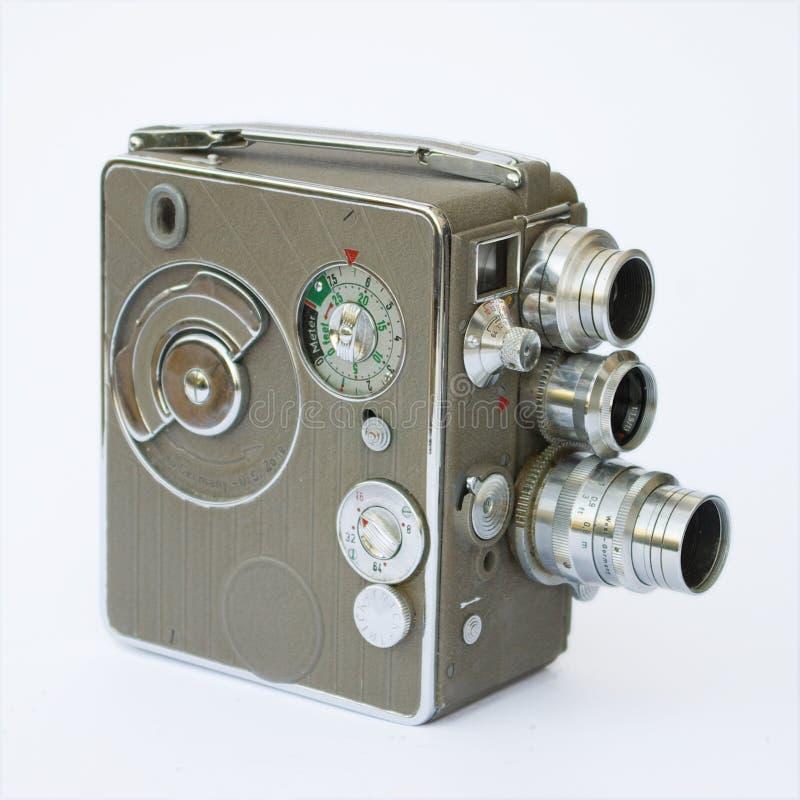 Oude filmcamera royalty-vrije stock fotografie