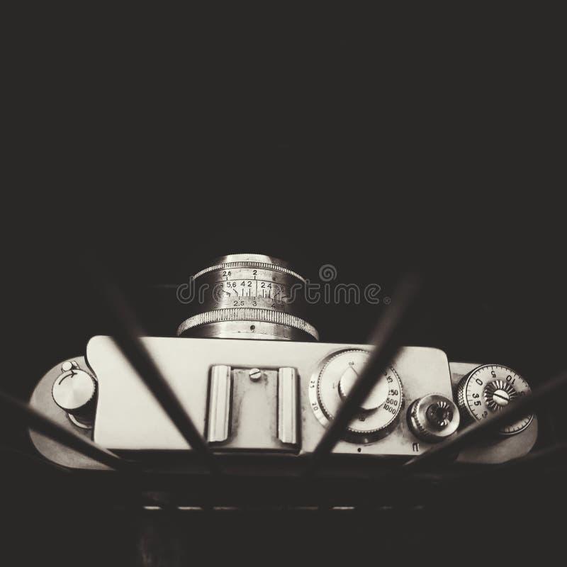 Oude filmcamera royalty-vrije stock afbeelding