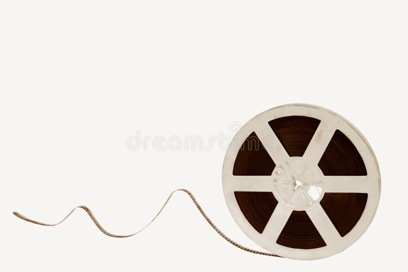 Oude filmfilm royalty-vrije stock afbeelding