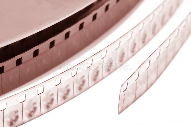 Oude filmfilm stock foto
