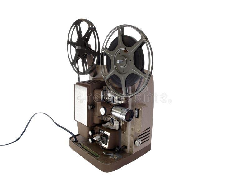 Oude Filmprojector royalty-vrije stock fotografie