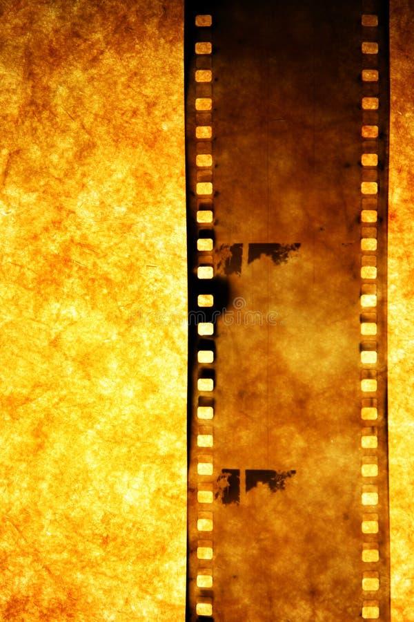 Oude filmstrook stock afbeelding