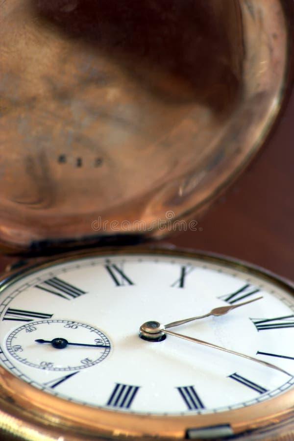 Oude Fobwatch Royalty-vrije Stock Afbeeldingen