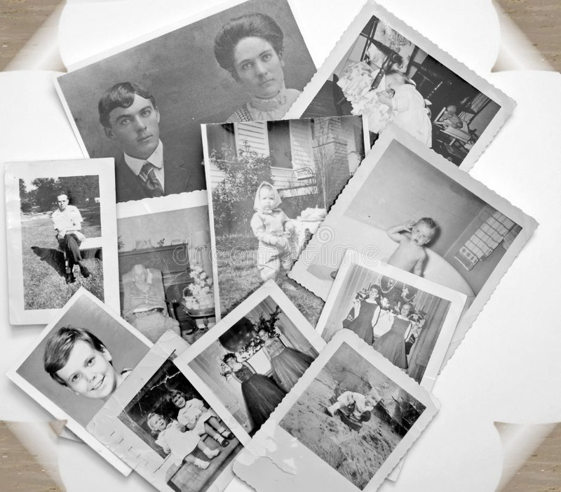 Oude Foto's in Zwart-wit