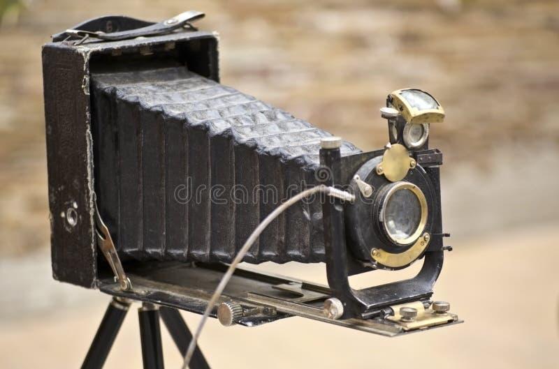 Oude fotoCamera stock foto