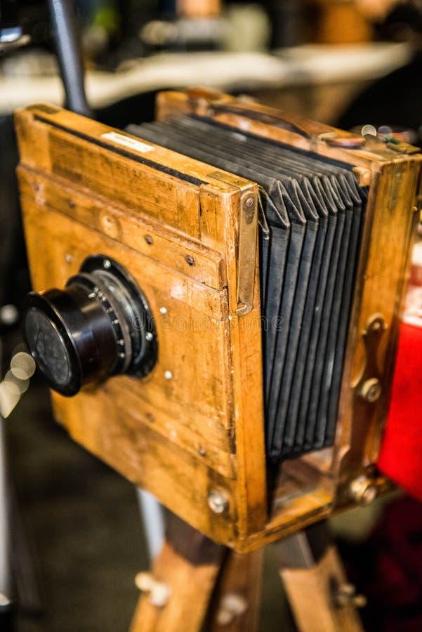 Oude fotocamera royalty-vrije stock afbeelding