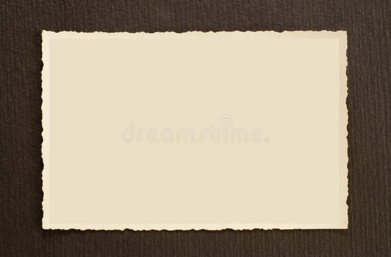 Oude fotoframes royalty-vrije stock fotografie