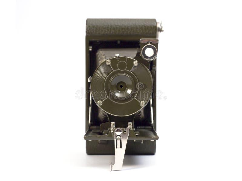 Oude fotografische camera stock foto's