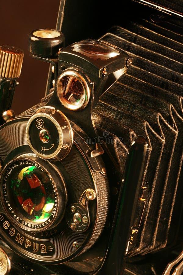 Oude fotografische camera stock afbeeldingen