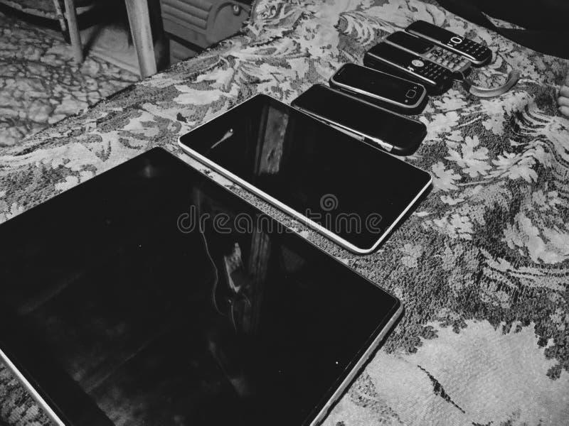 Oude gadgets stock afbeeldingen