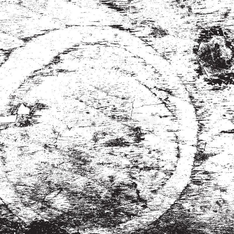 Oude Gebleekte Houten Textuur stock illustratie