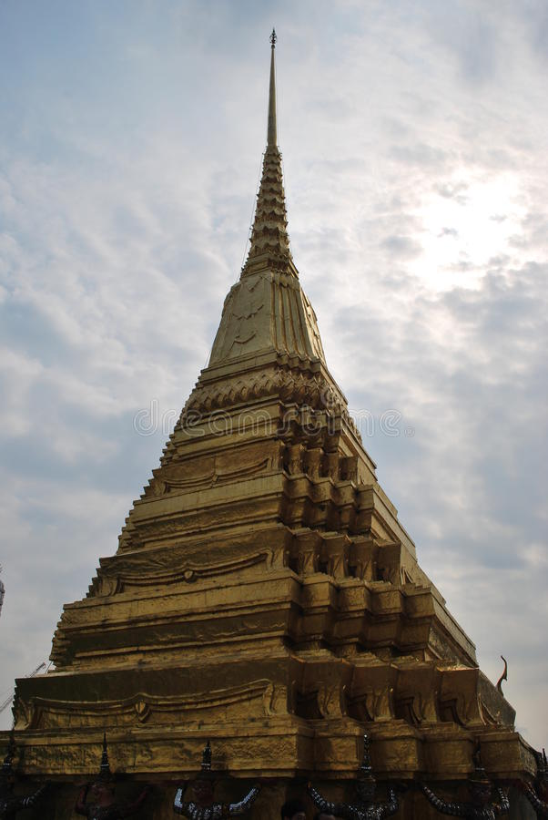 Oude gebouwde koninklijke tempel royalty-vrije stock foto
