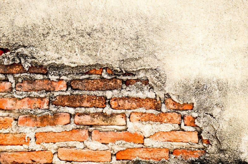 Oude gebroken muur royalty-vrije stock fotografie