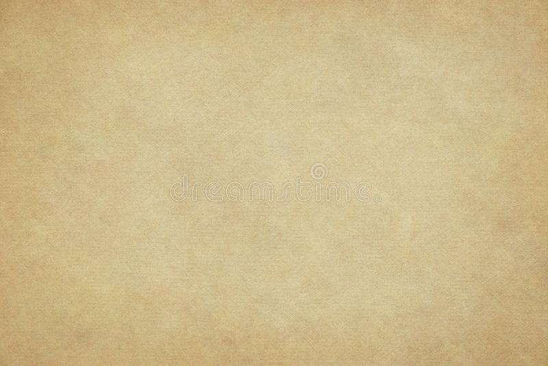 Oude gele document achtergrond royalty-vrije stock afbeeldingen